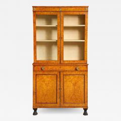 Early 19th Century Burr Oak Cabinet - 1824343