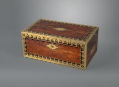 Early 19th Century Campaign Traveling Desk of Exceptional Quality - 1176897