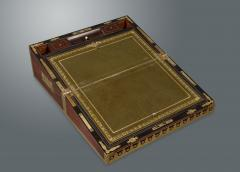 Early 19th Century Campaign Traveling Desk of Exceptional Quality - 1176898