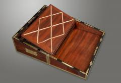 Early 19th Century Campaign Traveling Desk of Exceptional Quality - 1176899