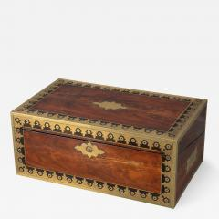 Early 19th Century Campaign Traveling Desk of Exceptional Quality - 1177295