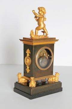 Early 19th Century French Clock with Putto - 1985980