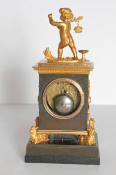 Early 19th Century French Clock with Putto - 1985981