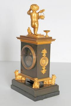 Early 19th Century French Clock with Putto - 1985983