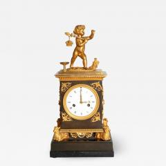 Early 19th Century French Clock with Putto - 2040993