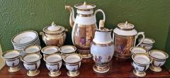 Early 19th Century French Old Paris Porcelain Tea and Chocolate Set - 1695070