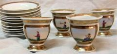 Early 19th Century French Old Paris Porcelain Tea and Chocolate Set - 1695074