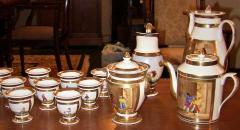 Early 19th Century French Old Paris Porcelain Tea and Chocolate Set - 1695075