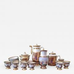 Early 19th Century French Old Paris Porcelain Tea and Chocolate Set - 1695459