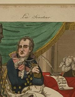 Early 19th Century French Political Engraving - 1776919
