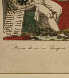 Early 19th Century French Political Engraving - 1776921