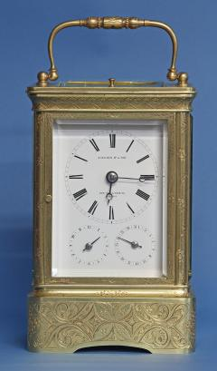 Early 19th Century Giant Petit Sonnerie Carriage Clock - 509419