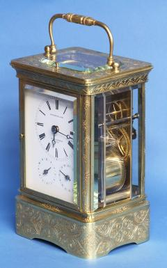 Early 19th Century Giant Petit Sonnerie Carriage Clock - 509420
