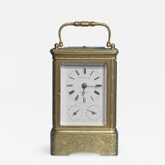 Early 19th Century Giant Petit Sonnerie Carriage Clock - 511786