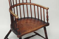 Early 19th Century Scottish Comb Back Windsor Armchair - 268759