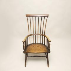 Early 19th Century Scottish Comb Back Windsor Armchair - 79829