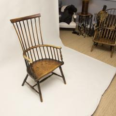Early 19th Century Scottish Comb Back Windsor Armchair - 79831