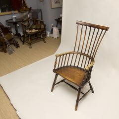 Early 19th Century Scottish Comb Back Windsor Armchair - 79832