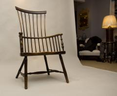 Early 19th Century Scottish Comb Back Windsor Armchair - 79833