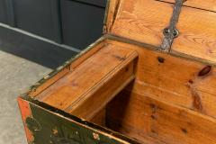Early 19thC Swedish Marriage Dowry Chest - 1946617