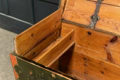 Early 19thC Swedish Marriage Dowry Chest - 1946619