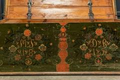 Early 19thC Swedish Marriage Dowry Chest - 1946621