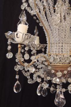 Early 20th c venetian crystal chandelier early 20th c venetian crystal chandelier 228297 aloadofball Images