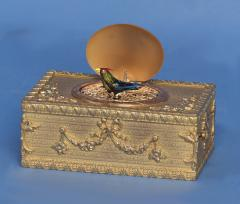 Early 20th Century Animated Singing Bird Box - 1146992