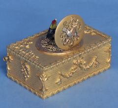 Early 20th Century Animated Singing Bird Box - 1146998