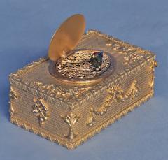 Early 20th Century Animated Singing Bird Box - 1147003