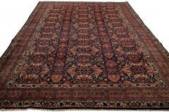 Early 20th Century Antique Bidjar Wool Rug - 1535348