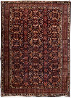 Early 20th Century Antique Bidjar Wool Rug - 1535363