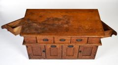 Early 20th Century Bakers Cabinet with Winged Doors - 222277