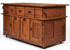 Early 20th Century Bakers Cabinet with Winged Doors - 222278