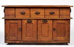 Early 20th Century Bakers Cabinet with Winged Doors - 222284
