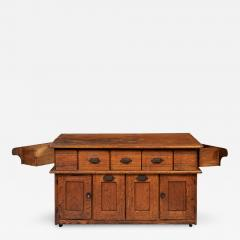 Early 20th Century Bakers Cabinet with Winged Doors - 421878