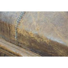 Early 20th Century European Leather Sofa - 1719743