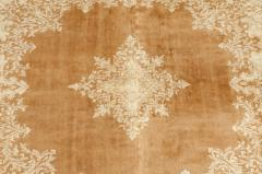 Early 20th Century Hand Knotted Silk Area Rug - 1169160