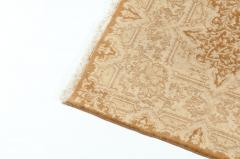 Early 20th Century Hand Knotted Silk Area Rug - 1169161