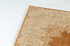 Early 20th Century Hand Knotted Silk Area Rug - 1169162