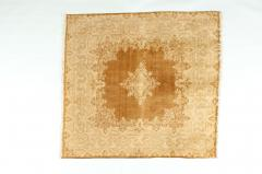 Early 20th Century Hand Knotted Silk Area Rug - 1169165