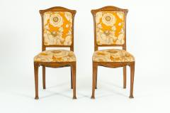 Early 20th Century Louis Majorelle Pair Side Chair - 1169985