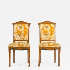 Early 20th Century Louis Majorelle Pair Side Chair - 1171238