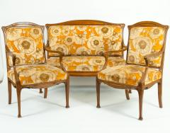 Early 20th Century Louis Majorelle Three Piece Seating Set - 1169944
