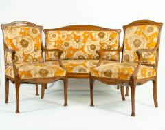 Early 20th Century Louis Majorelle Three Piece Seating Set - 1169945