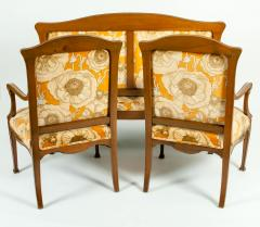 Early 20th Century Louis Majorelle Three Piece Seating Set - 1169952