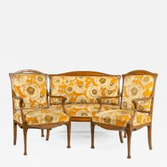 Early 20th Century Louis Majorelle Three Piece Seating Set - 1171237