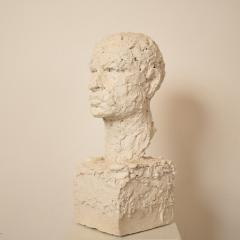 Early 20th Century Plaster Bust of a Man circa 1920 - 639192