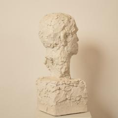 Early 20th Century Plaster Bust of a Man circa 1920 - 639197