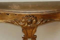 Early 20th c Giltwood Console - 639830
